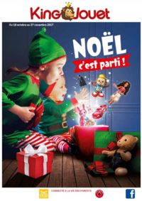 Catalogues et collections KING JOUET FREYMING-MERLEBACH : Noël c'est parti !