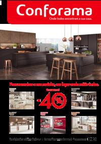 Folhetos Conforama Setúbal : Especial cozinhas até -40%
