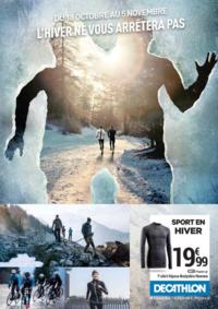 Prospectus DECATHLON Cergy Pontoise : L'hiver ne vous arrêtera pas