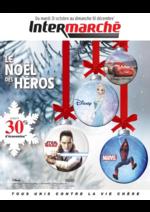 Catalogues et collections Intermarché Hyper : Le Noël des héros