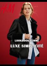 Catalogues et collections H&M : Lookbook Femme : Luxe simplicité