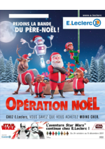 Prospectus E.Leclerc : Opération Noël