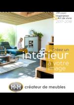 Catalogues et collections H&H : Inspiration & Art de vivre 2017-2018