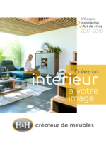 Catalogues et collections H&H : Inspiration & Art de vivre 2017-2018