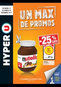 Prospectus Hyper U HANCHES : Un max de promos