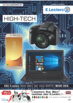 Prospectus E.Leclerc : High-tech