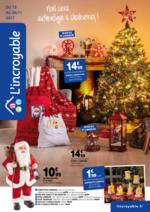 Prospectus L'incroyable : Noël sera authentique et chaleureux