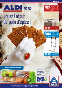 Prospectus Aldi ELSENE/IXELLES : Jouez l'atout du pain d'épice !