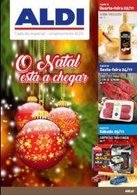 Folhetos Aldi Alverca do Ribatejo : O Natal está a chegar