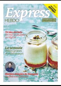 Journaux et magazines Carrefour Express PARIS 44 rue Sibuet : Feuilletez le magazine Contact Hebdo
