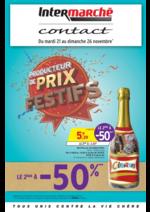 Prospectus Intermarché Contact : Producteur de prix festifs