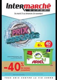 Prospectus Intermarché Super Saint-Vit : Producteur de prix degraissés