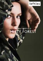 Catálogos e Coleções Lefties : Lookbook Woman: Misty Forest