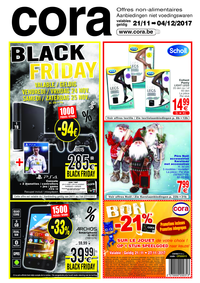 Prospectus Cora ANDERLECHT : Black Friday