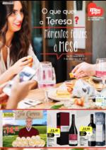 Folhetos Meu Super : O que quer a Teresa? Momentos felizes à mesa