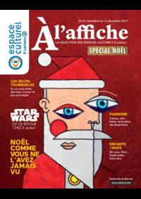 Journaux et magazines Espace culturel E.Leclerc LE BLANC MESNIL : A l'affiche Spécial Noël