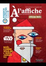 Journaux et magazines Espace culturel E.Leclerc : A l'affiche Spécial Noël