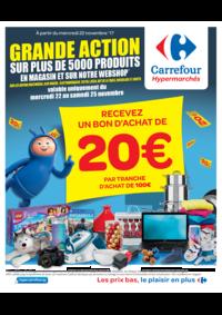 Prospectus Carrefour AUDERGHEM / OUDERGHEM : Grande action sur plus de 5000 produits