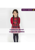 Catalogues et collections Sergent Major : Lookbook enfant Le major express