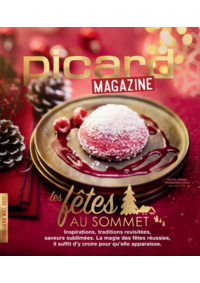 Journaux et magazines Picard VIROFLAY 201 AV DU GENERAL LECLERC : Picard Mag : Les fêtes au sommet