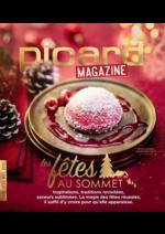 Journaux et magazines Picard : Picard Mag : Les fêtes au sommet