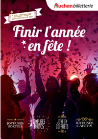 Prospectus Auchan Vélizy : Finir l'année en fête !