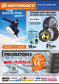 Prospectus autobacs Bonneuil-sur-Marne : Enfin un hiver serein !