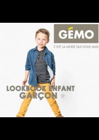 Catalogues et collections Gemo FRESNES : Lookbook enfant garçon