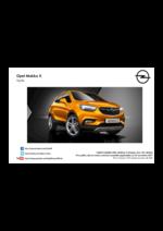 Tarifs opel : Tarifs Opel Mokka x