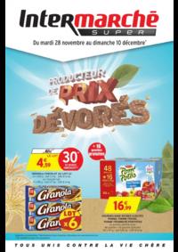Prospectus Intermarché Super Bondy : Producteur de prix dévorés