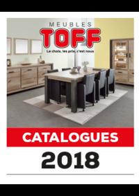 Catalogues et collections Meubles Toff : Découvrez les catalogues 2018
