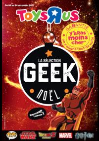 Prospectus Toys R Us TOULOUSE : La sélection geek Noël