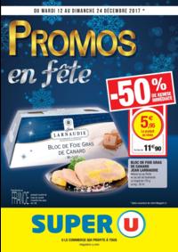 Prospectus Super U PARIS - AV. CLICHY : Promos en fête