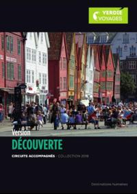 Catalogues et collections Verdié Voyages Tarbes : La brochure Version Découverte