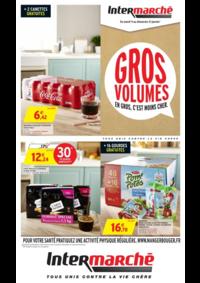 Prospectus Intermarché Super Carignan : Gros volumes en gros c'est moins cher
