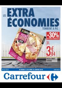 Prospectus Carrefour CHARLEVILLE MEZIERES : Les extra économies tombent à pic