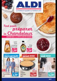 Prospectus Aldi Charenton-le-Pont : Tout pour préparer la Chandeleur