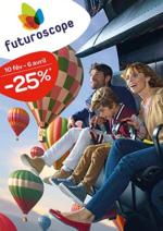 Promos et remises  : Futuroscope : promo jusqu'à -25%