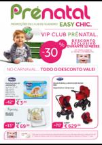 Folhetos Prénatal : No carnaval...todo o desconto vale