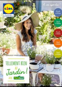 Prospectus Lidl TOULON : Tellement bien au jardin avec Florabest