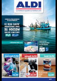 Prospectus Aldi Montauban : Le bon choix maintenant pour du poisson encore longtemps