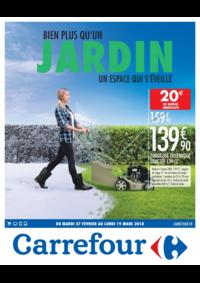 Prospectus Carrefour CHARENTON LE PONT : Bien plus qu'un jardin un espace qui s'éveille