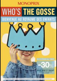 Prospectus Monoprix PARIS 54 Bd de l'Hôpital : Bienvenue au royaume des enfants