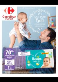 Prospectus Market BOURG LA REINE : Tout pour bébé