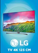 Promos et remises  : -150€ d'économie sur la TV LG 4K 123 cm
