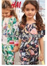 Catálogos e Coleções H&M : Lookbook criança Jogo de padrões