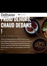 Bons Plans Proxy Delhaize : Froid dehors, chaud dedans!