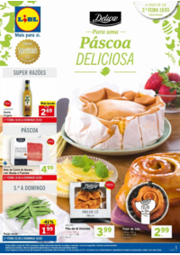 Folhetos Lidl : Para uma Páscoa deliciosa