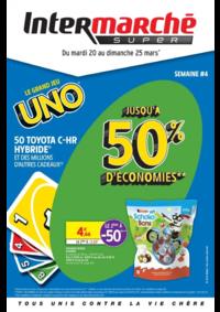 Prospectus Intermarché Super Carignan : Le grand jeu Uno semaine #4