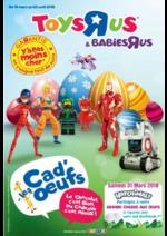 Prospectus Toys R Us : Les Cad'oeufs